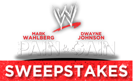 PAIN & GAIN SWEEPSTAKES